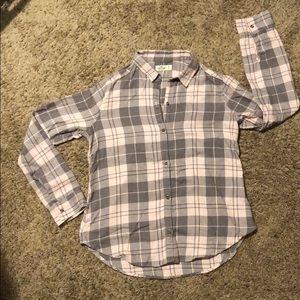 Hollister Flannel Button Up (M)